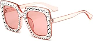 15982 sunglasses ladies anti-studded sunglasses 2018 new European and American square sunglasses