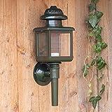 Antikas | Außenleuchte | Gartenlampe | Außenwandleuchte | Beleuchtung für Terrasse | Rechteckig | Gusseisen | Grün