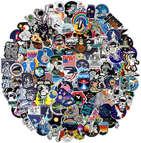 Graffiti Stickers Bomb Pack 150 PCS Cool NASA Space Explorer Vinyl Decals for Playstation 4 product image