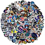 Graffiti Stickers Bomb Pack 150 PCS, Cool NASA Space Explorer Vinyl Decals for Playstation 4 PS5 Skateboard Laptop Car Bumper Hydro Flask Hydroflask Water Bottle, DIY Decors for Adult Teens Kids Room