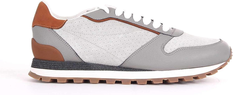 ADIDAS Sneakers Blau Herren Leder, Synthetische Fasern