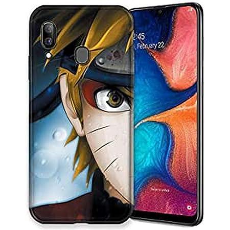 Cokitec Coque pour Samsung Galaxy A20e Manga Naruto Blanc