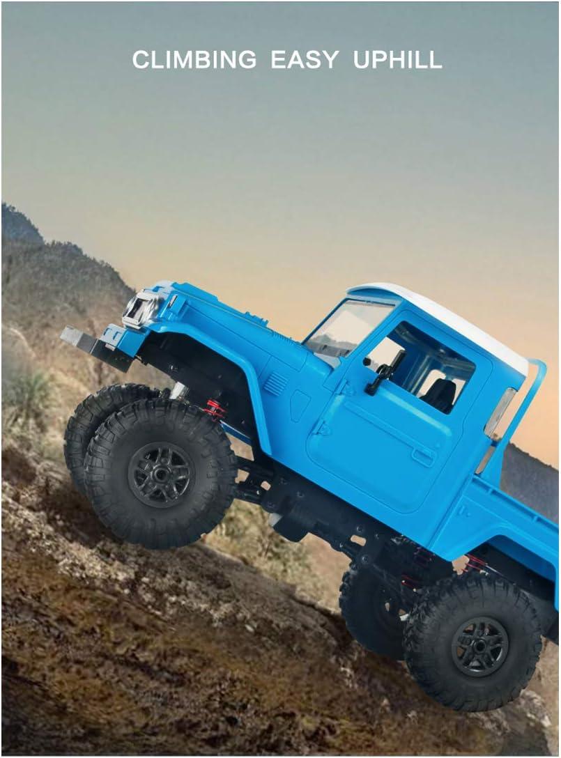 RTR RC Auto 1//12 4WD 2.4G Ferngesteuert Offroad Truck Ferngesteuertes Auto Gel/ändewagen mit LED-Licht Teakpeak LKW Ferngesteuert Gro/ß