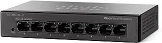 Cisco SYSTEMS 8-Port PoE Gigabit Desktop Switch (4 Reg and 4 PoE) SG110D08HPNA