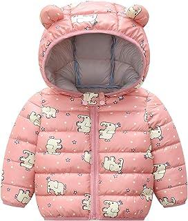 Dziecięca kurtka zimowa płaszcz dla dzieci ucho kurtka puchowa z kapturem ciepła wyściełana lekka chłopięca dziewczęta stroje