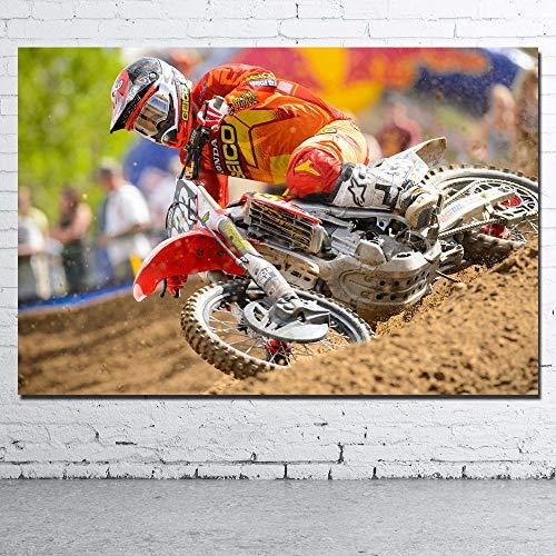 keletop Competencia de Motocross_Puzzle Adulto 1000 Piezas_Dificultad Creativa Gran Rompecabezas educación educativa descompresión Juguetes para Adultos_50x75cm
