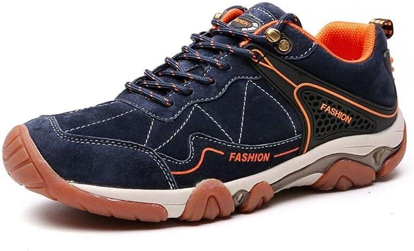 JUNBOSI , Chaussures de Ville à Lacets pour Homme