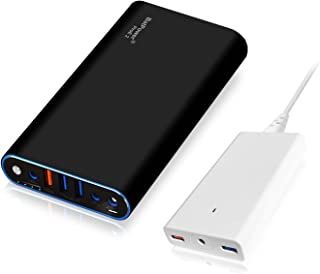 BatPower ProE 2 EX7B Portable Charger External Battery Power Bank for Apple MacBook Pro MacBook Air Mac Retina 2006-2015 Laptop, QC 3.0 USB Ports Fast Charging for Tablet and Smartphone -98Wh