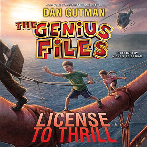 The Genius Files #5: License to Thrill cover art