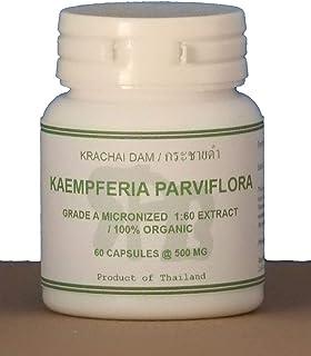 Tongkatali.org's Kaempferia Parviflora Grade A Extract 1:60 60 Capsules 500 mg for a Tongkat Ali Stack