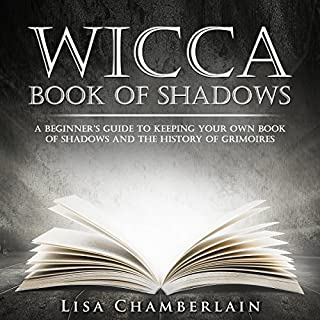 Wicca Book of Shadows audiobook cover art