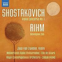 Violin Concerto No. 1/Rihm: Gesungene Zeit