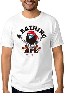 Bathing Ape Art a Bathing Ape Pirate Store for men T shirt