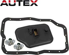 AUTEX 4F27E FN4AEL Transmission Shift Solenoid A&B Filter Kit Replacement For Ford C-Max 2013 2014/Ford Focus 2000-2012 /Ford Transit Connect 2010-2013/Mazda 2 3 5 6 2006 2007 2008 2009 2010