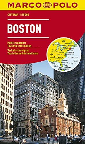 MARCO POLO Cityplan Boston 1:15 000: Stadsplattegrond 1:15 000 (MARCO POLO Citypläne)