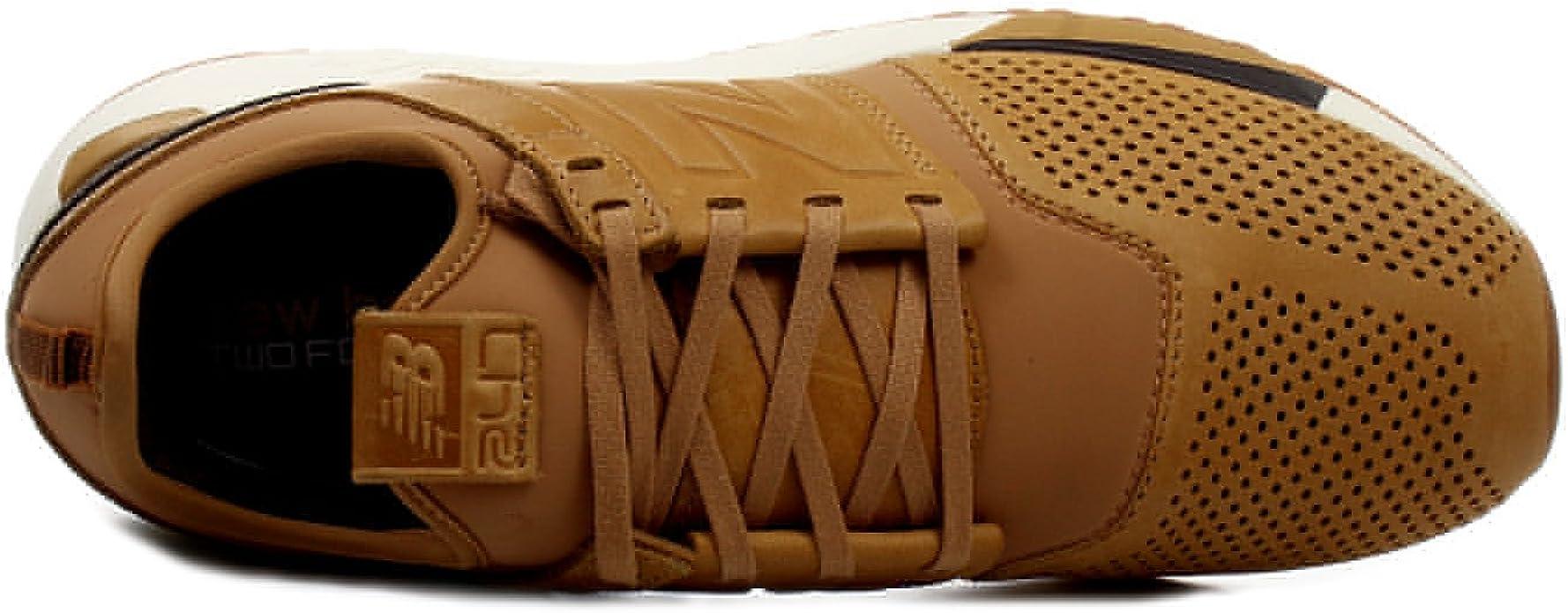 New Balance Men's 247 Luxe Classic Brown Mrl247ta
