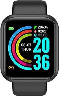 Smart Horloge Voor Mannen Dames Hartslag Bloeddruk Monitor Waterdicht Sport Smartwatch Voor Andriod IOS Smart Clock (Color...