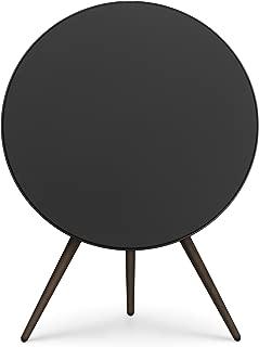 Bang & Olufsen Beoplay A9 4th Generation Speaker – Iconic Wireless Speaker, Black with Walnut Legs