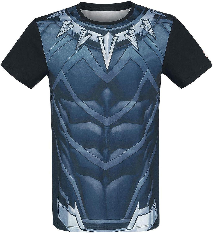 Black Panther Official Marvel Sublimation TShirt