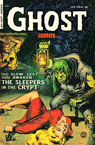 Ghost Comics #06: The Sleepers in the Crypt (English Edition)