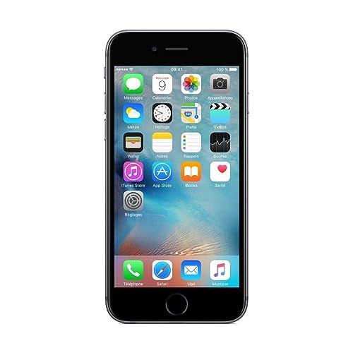 Apple iPhone 6S - Smartphone DE 16 GB, Color Gris (Reacondicionado)