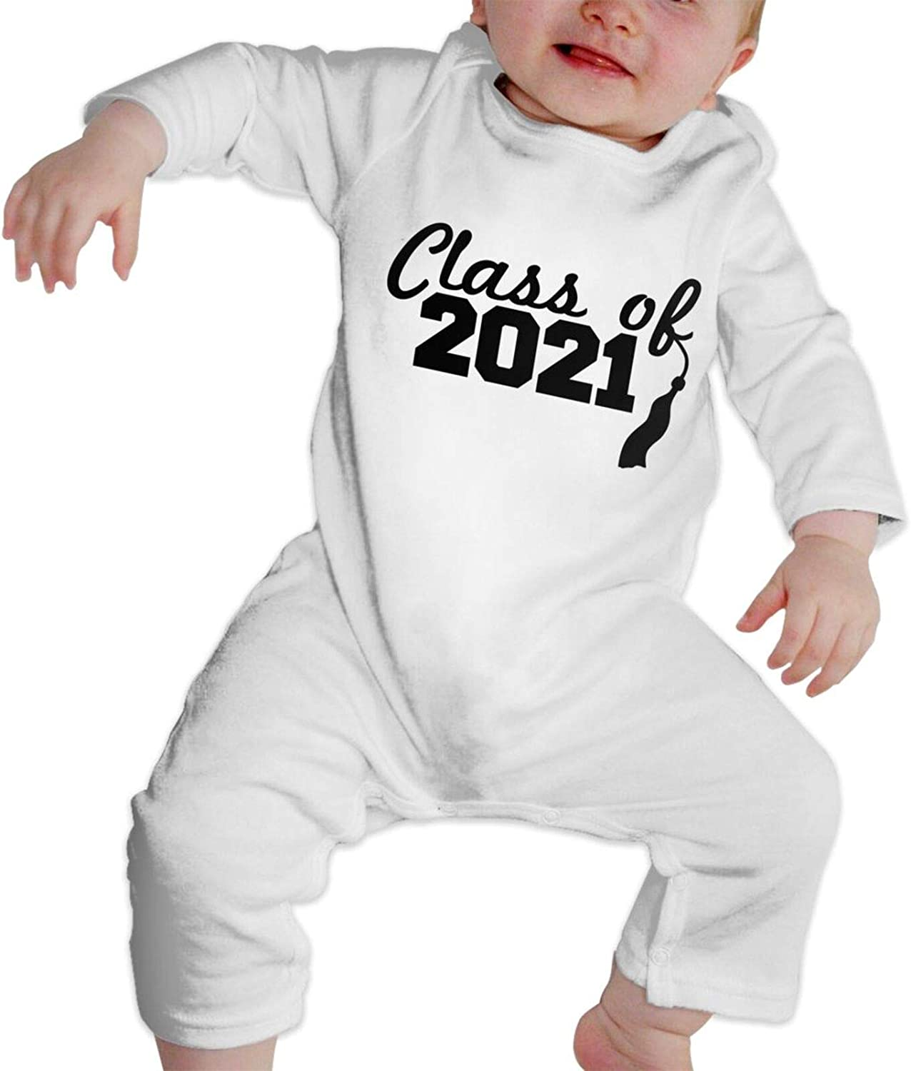 100% quality warranty! Class of 2021 Popular brand in the world Babys Toddler Cute Long Sleeves Jumpsuit