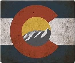 CafePress Colorado State Mountains Soft Fleece Throw Blanket, 50