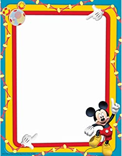Eureka Mickey Mouse Clubhouse Primary Colors Computer Paper