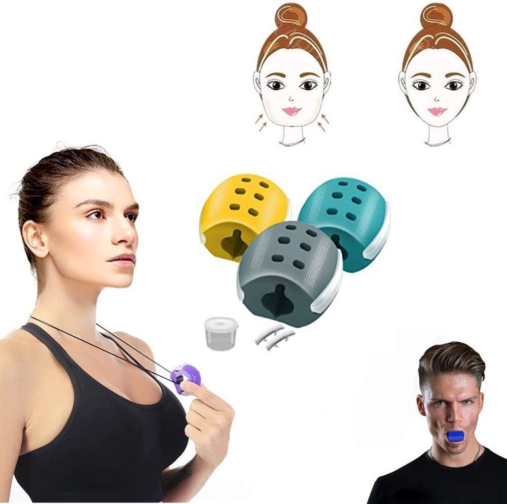 DINGJIUYAN Appareil de tonification du visage Pour entra/înement musculaire Pour tonifier le visage