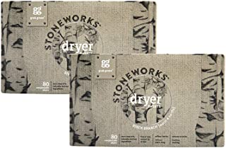 Grab Green Grab Green Stoneworks Natural Dryer Sheets, Birch Branch, 2 Pack, Birch Branch, 80 Count