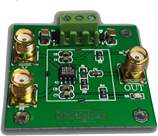 Taidacent AD835 4-Quadrant Analog Multiplier Module Voltage Output Signal Conditioning Phase Detection Measurement Four Qu...