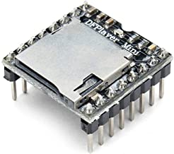 Coomir DFplayer Mini Reproductor de MP3, módulo de música, Audio, Placa de Voz para Arduino UNO