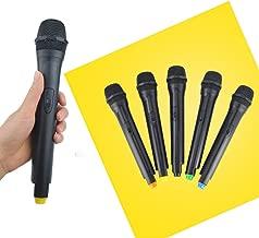 FidgetGear Classic Plastic Wireless Microphone Props Anchorman Vintage mic Handheld