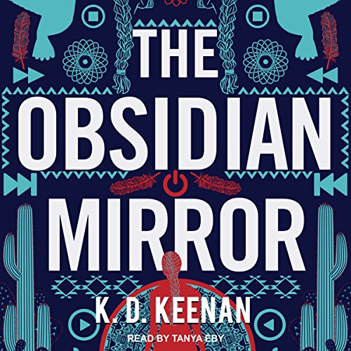 The Obsidian Mirror audiobook cover art