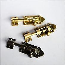 Teken Metalen Bout Vat Toggle Sluiting Vergrendelen Sloten Versterking Beveiliging (Size : Large bronze)