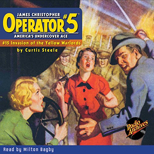 Couverture de Operator #5 #15, June 1935