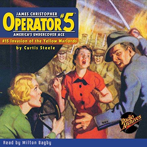 Operator #5 #15, June 1935 audiobook cover art