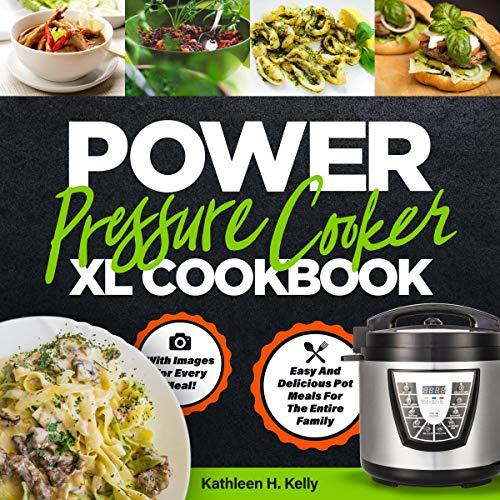 Power Pressure Cooker XL Cookbook cover art