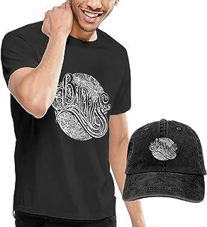 Camiseta de manga corta para hombre, estilo baronés, con gorra de béisbol
