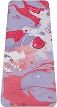 Yoga Mat Antislip TPE marmer textuur14 Hoge dichtheid vulling om pijnlijke knieën te voorkomen, Perfect voor yoga, pilates...