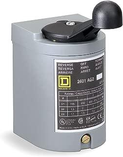 SCHNEIDER ELECTRIC 2601AG2 600-Vac 2 Horsepower Drum Switch Aplus Options