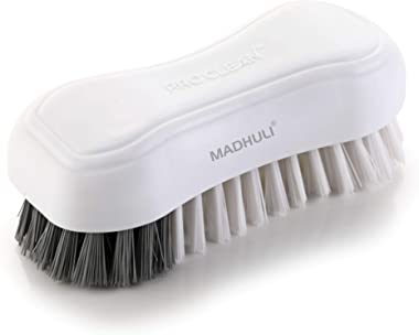 MADHULI PROCLEAN Specially Designed Premium Cloth Brush/Floor Scrubbing Brush/Cleaning Brush/pack of 1 (White,Color May vary