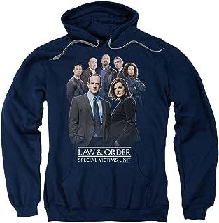 Law & Order SVU Crime Legal Drama TV Series NBC Team Adult Pull-Over Hoodie