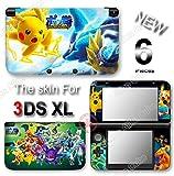 Pokkén Tournament Pokemon Pokken Skin Sticker Decal Cover #1 for Original Nintendo 3DS XL
