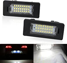 2PCS Xenon White Car LED Light Error Free License Plate Light Lamp For BMW 1 3 5 Series X1 X 5 X6 M3 Auto Interior Lamp