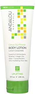 Andalou Naturals Skin Uplifting Body Lotion, Citrus Sunflower, 8 Oz