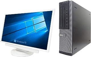 【Microsoft Office 2016搭載】【Win 10搭載】【超大画面22インチ液晶セット】DELL 7010/第三世代Core i5-3550 3.3GHz/超大容量メモリー8GB/HDD:1TB/DVDスーパーマルチ/無線搭載/中...