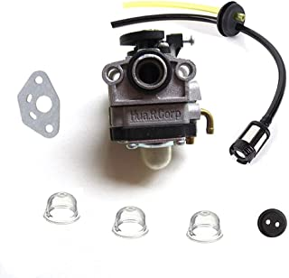 HQParts Carburetor & Fule line Kit for Yardman Y26SS Y26CO YM26SS YM26BC YM26CO YM26CS Trimmers