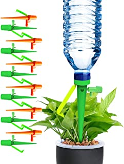 TGTP Plant Self Watering Spikes Devices, 12 Pack Automatic Irrigation Equipment Plant Waterer,Adjustable Water Volume,Drip...