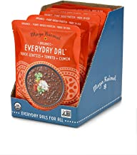 Maya Kaimal Organic Indian Black Lentil Everyday Dal, 10 oz (Pack of 6), Fully Cooked with Tomato and Cumin. Vegan, Microwavable, Ready to Eat